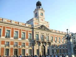 Royal Post Office is the seat of the presidency of the Community of Madrid.