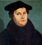 Luther posted his 95 Theses in October 1517 at the Castle Church of Wittenberg