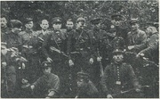 The Lithuanian partisans fought with the occupants in 1944–1953, wearing the interwar Lithuanian uniforms and symbols