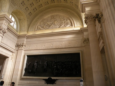 The Salle Casimir Périer, with a bronze bas-relief of the 1798 Assembly by Jules Dalou