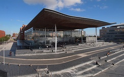 The Senedd, seat of the Welsh Assembly