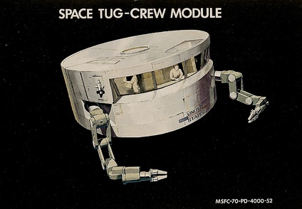 Space Tug concept, 1970s