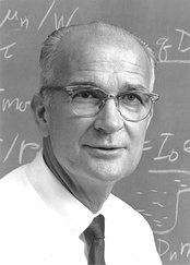 "William Shockley, Stanford professor, Nobel laureate in physics, ""Father of Silicon Valley"""