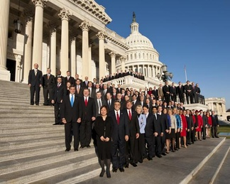 Freshman class of the House of Representatives, January 2011