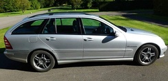 2003 UK version of C 32 Estate (S203) in Brilliant Silver.