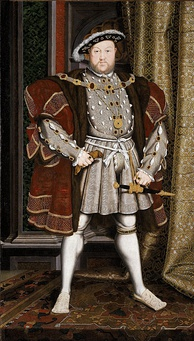 Henry VIII broke England's ties with the Roman Catholic Church, becoming the sole head of the English Church.