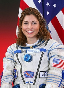 Anousheh Ansari, the first Muslim woman in space.