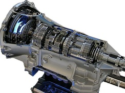An 8-gear automatic transmission