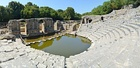 Butrint - Ancient amphitheatre (by Pudelek).JPG