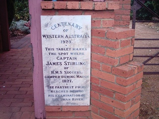 Centenary Stone at the All Saints Church in the Swan Valley