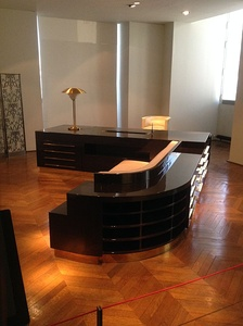 Desk of an administrator, by Michel Roux-Spitz for the 1930 Salon of Decorative Artists