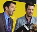 Drew and Jonathan Scott of reality real estate TV show, Property Brothers