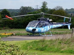 "Photo of a Eurocopter AS350 B3 ""Squirrel"""