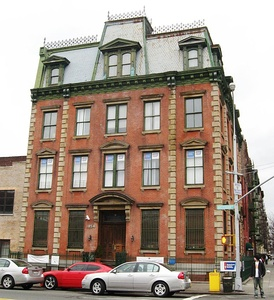Former 30th Precinct House on 152nd Street, a NYC Landmark