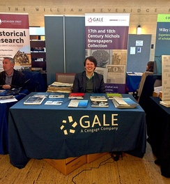 Gale at the University of London School of Advanced Study History Day, October 2017.