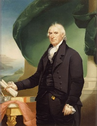 President of the Senate George Clinton (as painted in 1814)
