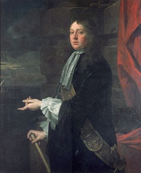 Admiral William Penn; by the time of the invasion, he and Venables were barely on speaking terms