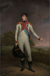 Portrait of King Louis Bonaparte of Holland in military uniform