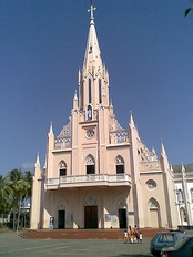 Front facade of Our Lady of Lourdes Metropolitan Cathedral