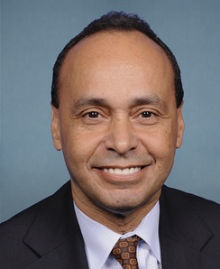 Luis Gutiérrez, who was re-elected as the U.S. Representative for the 4th district