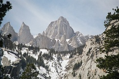 Mount Whitney is located on the Tulare-Inyo County line