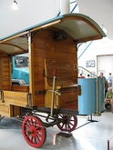 The replica of the first truck manufactured at Nesselsdorfer Wagenbau