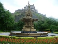 The Ross Fountain in Edinburgh, manufactured in Paris, was an exhibit at the Great London Exposition.
