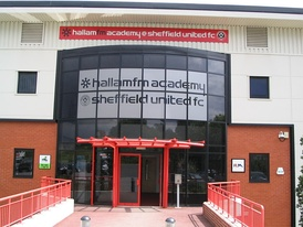 The Sheffield United F.C. Academy & Training ground at Shirecliffe