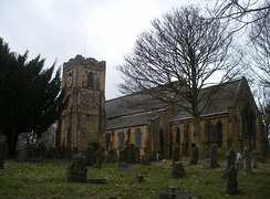 Middleton St Mary's Church built in 1847.