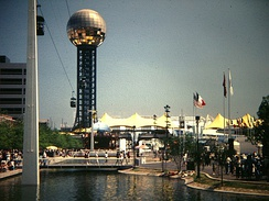 The 1982 World's Fair in Knoxville