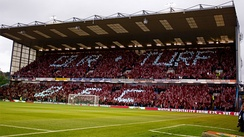 Turf Moor, the home of Burnley F.C.