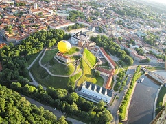 Lithuania has the highest percentage of hot air balloons per capita.[287] Flights over the Vilnius Old Town and Trakai Historical National Park are particularly popular.