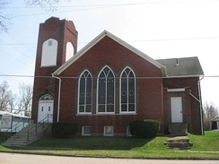 West Mansfield Friends Church, Ohio, affiliated with the Evangelical Friends Church International