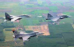 162d FS and Hungarian Air Force MiG-29 and SAAB Gripen