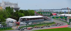 Montreal is the site of the Canadian Grand Prix, an annual Formula One auto race.