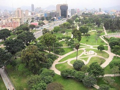 Campo de Marte is one of the largest parks in the metropolitan area of Lima.