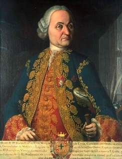 Carlos Francisco de Croix, marqués de Croix, Viceroy of New Spain (1766-1771)