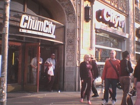 CHUM Television's (now CTV Limited's) headquarters at 299 Queen Street West in Toronto (then known as the CHUMCity Building).