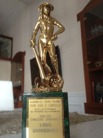 A David di Donatello award