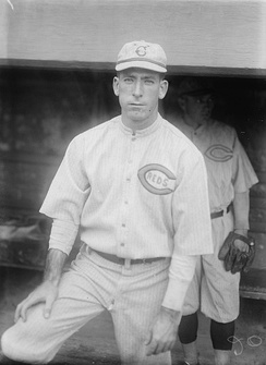 Dolf Luque made two Opening Day starts for the Reds.