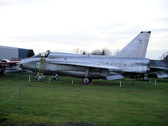T.55 55–713 at the Midland Air Museum that retains its Royal Saudi Air Force markings