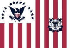 Former Coast Guard Ensign, used from 1915 to 1953.