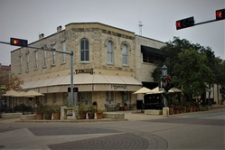 Francisco's Restaurant at 201 Earl Garrett St., intersecting Water Street, in the Kerrville downtown square