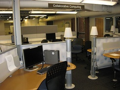 East Commons Collaborative Computing desks