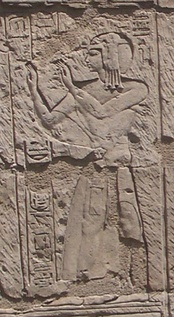 Relief representing the High Priest of Ptah, Shoshenq.