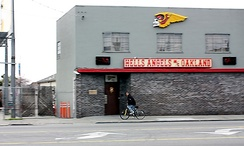Hells Angels clubhouse in Oakland, California