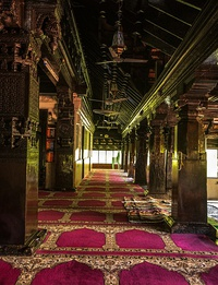 Masjid Zeenath Baksh is the 3rd oldest mosque in India