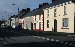 Main Street, Moneygall where in Ollie Hayes' pub the song was first performed.
