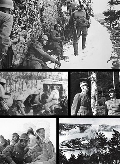 Scenes from the Norwegian Campaign in 1940