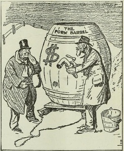 1917 cartoon from the New York World